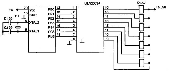 Скачать Datasheet ULN2003A